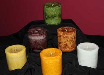 Candles - Handmade in Asheville , North Carolina